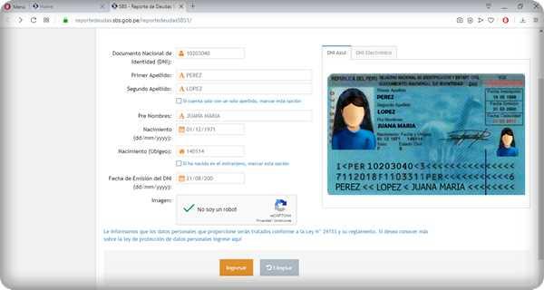 como saber si tengo deudas en infocorp