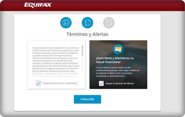 ¿Cómo saber si estoy en Infocorp? desde Equifax